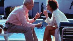 Susan Sarandon y Paul Newman en una escena de la película 'Al caer el sol', en el rodaje de la cual Newman le cedió parte de su sueldo a Sarandon.