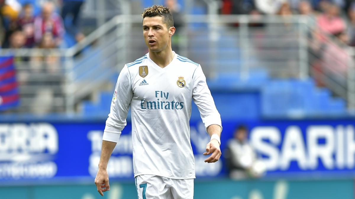 Cristiano Ronaldo ante el Eibar. (AFP)