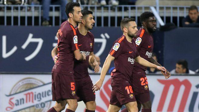 Málaga – Barcelona: resultado resumen y goles (0-2)