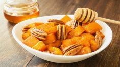 Receta de calabaza a la plancha dulce y fácil de preparar