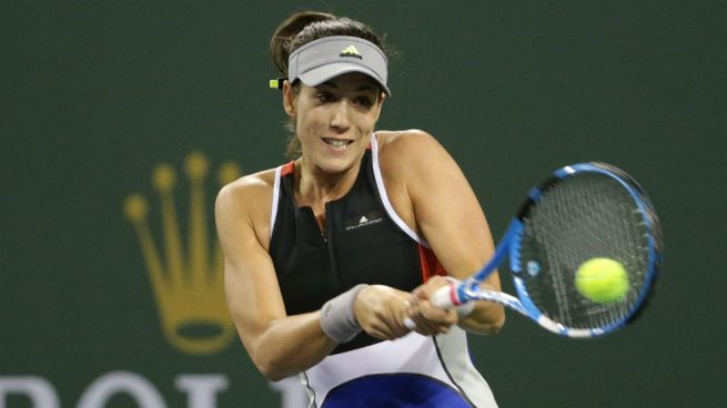 Garbiñe se despide de Indian Wells tras caer en su debut