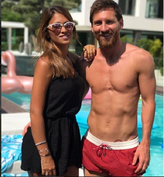 Leo Messi, padre por tercera vez
