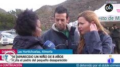 Ana Julia Quezada, el pasado día 4 en una entrevista en TVE.