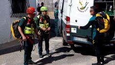Efectivos de la Guardia Civil en la búsqueda de Gabriel Cruz (Foto: EFE)