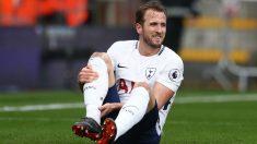 Kane se duele del tobillo. (Getty)