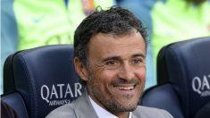 Luis Enrique, en el banquillo en un partido del Barcelona. (AFP)