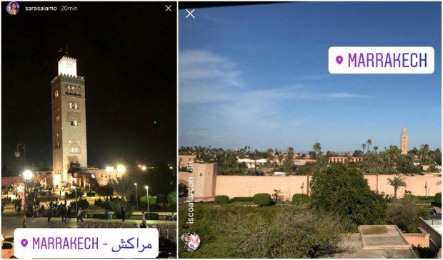 El viaje más colchonero de Isco y Theo: visitan Marrakech con sus parejas 'atléticas'