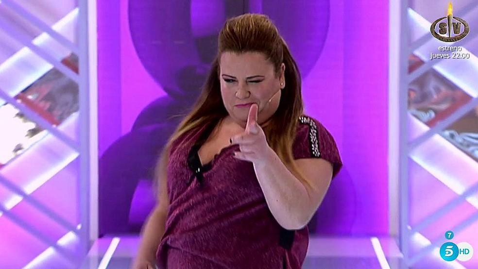 Rocío Jurado en 'Cámbiame'. Imagen: Telecinco