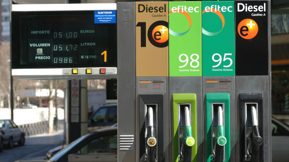 Gasolinera española (Foto: GETTY).
