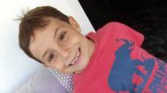 El pequeño Gabriel Cruz.