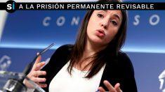 Irene Montero, portavoz de Unidos Podemos en el Congreso de los Diputados. (Foto: EFE)