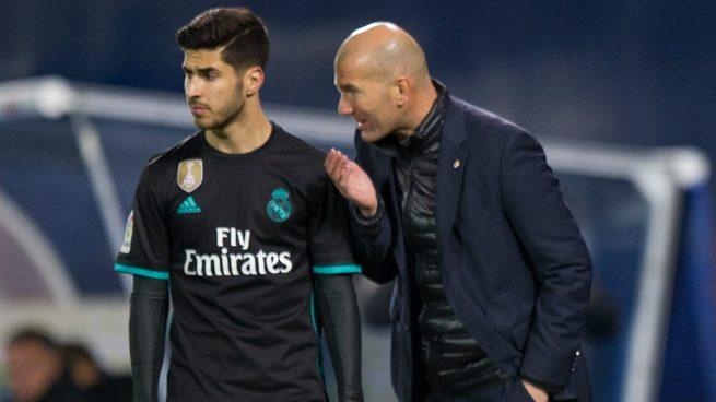 Así 'resucitó' Zidane a Asensio