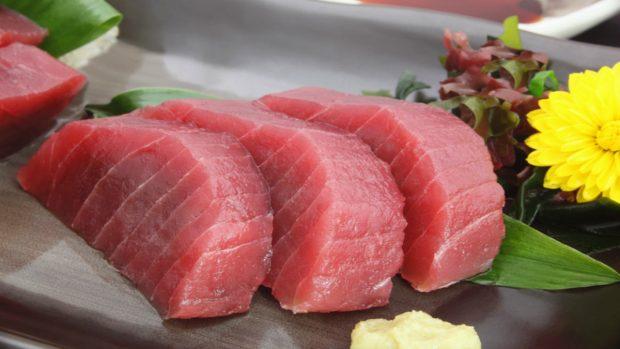 tartar de atún y mango