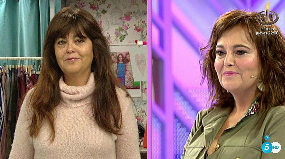 Ana no se va satisfecha de 'Cámbiame'. Imagen: Telecinco