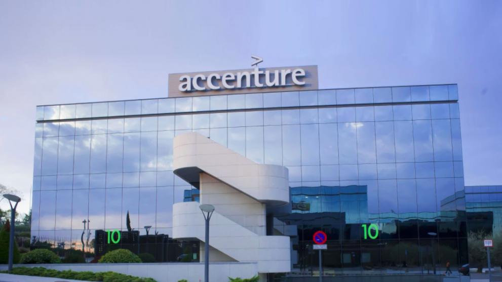 Sede de Accenture en Madrid.