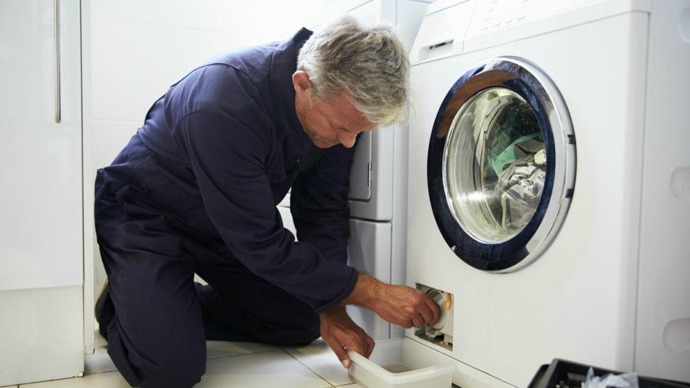 Pasos para limpiar la lavadora por completo.