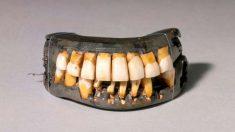 Así era la dentadura postiza del primer presidente de Estados Unidos
