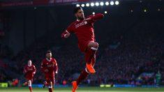 Emre Can celebrando un gol con el Liverpool (Getty)