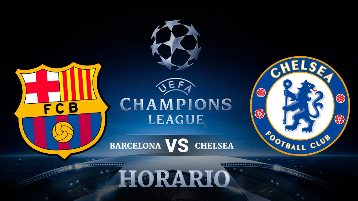 Barcelona – Chelsea   Champions League.