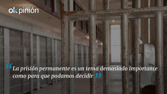 Exijamos un referéndum sobre la prisión permanente