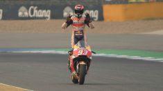 Marc Márquez ha firmado un nuevo contrato con Honda que le convertirá en el piloto de MotoGP mejor pagado durante las temporadas 2019 y 2020, desbancando del puesto a Jorge Lorenzo. (Getty)