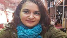 María Camila Parra Cortés, desaparecida el lunes 12 de marzo en Valencina de la Concepción, Sevilla. (Foto: SOS Desaparecidos)