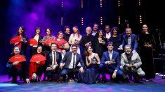 Galardonados en los Premios de la Unión de Actores. (Foto: EFE)