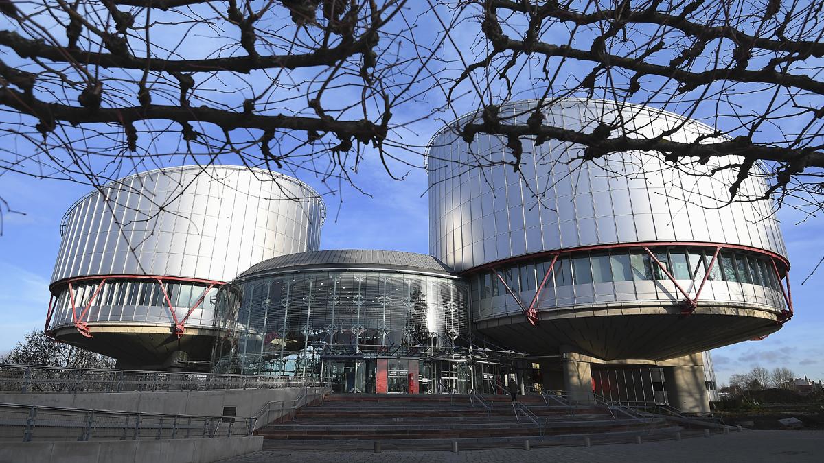 Tribunal Europeo de Derechos Humanos. (Foto: AFP)