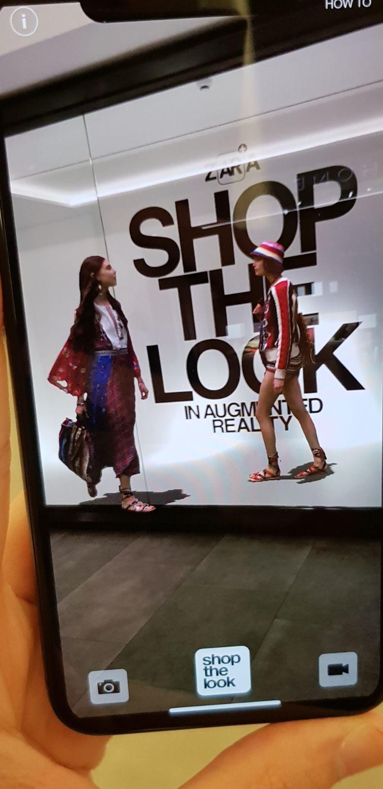 Nueva revolución en Zara: lanzará una aplicación para comprar con Realidad Aumentada