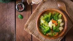 Receta de brócoli con patatas sana y fácil de preparar