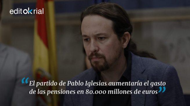 Podemos propone hundir España
