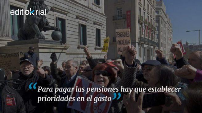 Las pensiones son una cuestión de prioridades
