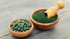 La espirulina es rica en proteínas de alto valor biológico.