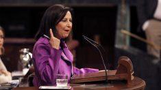 Margarita Robles, portavoz del PSOE en el Congreso de los Diputados. (Foto: EFE)