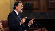 El presidente del Gobierno, Mariano Rajoy, en el Congreso de los Diputados. (Foto: EFE) | Moción de censura Rajoy