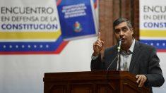 Miguel Rodríguez Torres, ex ministro del Interior de Venezuela. (Foto: AFP)