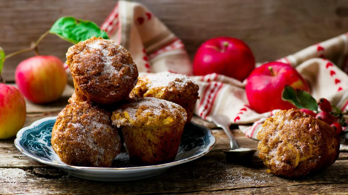 Receta de muffins de manzana paso a paso