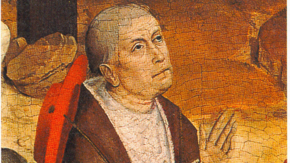 Pintura de Nicolás de Cusa