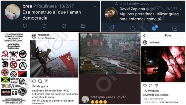 El PSOE nombra líder de sus juventudes en Chamartín a un proetarra fan del fabricabombas Alfon