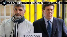 Juan José Cortés, padre de la asesinada Mari Luz Cortés, y Juan Carlos Quer, padre de la también asesinada Diana Quer, se unen en contra de la derogación de la prisión permanente revisable.