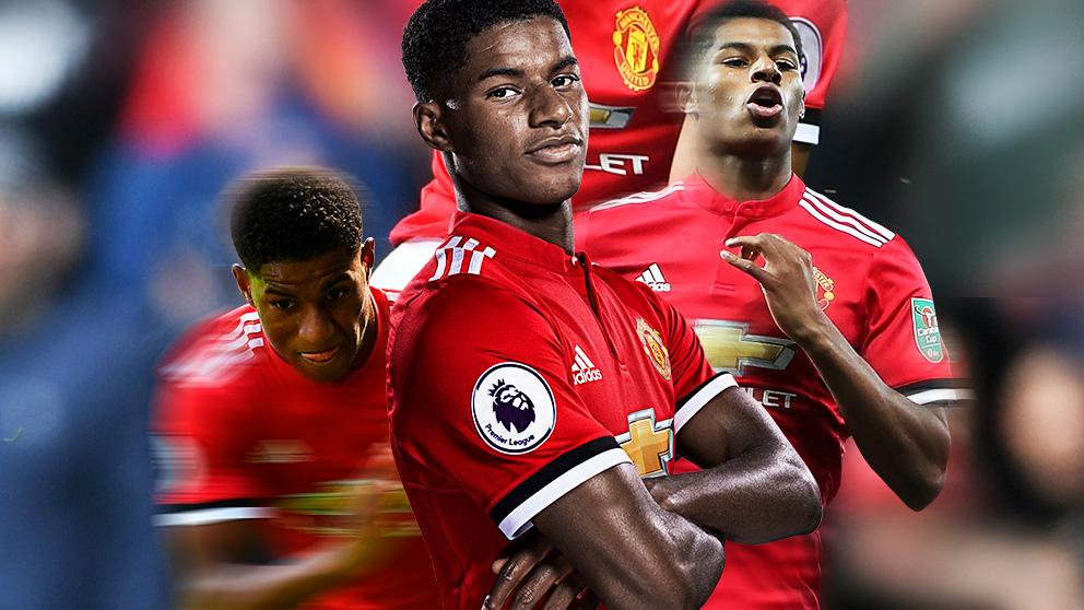 Rashford está infravalorado en el Manchester United de Mourinho.