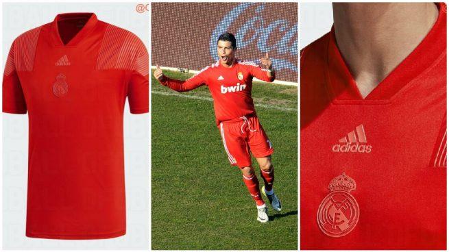Se filtra la tercera equipación del Real Madrid para la próxima temporada   vuelve el rojo c40f1e7060927