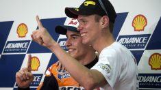 Tito Rabat tiene claro que Marc Márquez es el principal favorito para ganar el mundial de MotoGP de 2018, donde él mismo espera mejorar las prestaciones ofrecidas durante las dos pasadas temporadas. (Getty)