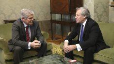 Alfonso Dastis y Luis Almagro, reunidos en Madrid. (EFE)