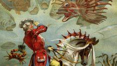 Las historias del Barón de Munchausen contaban con elementos fantásticos.