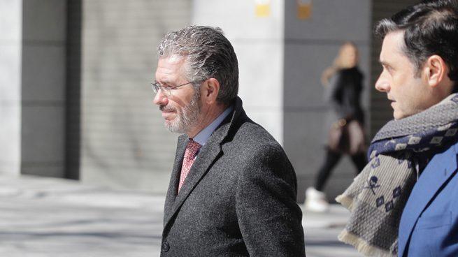 Francisco Granados entrando a la Audiencia Nacional. Foto: FRANCISCO TOLEDO