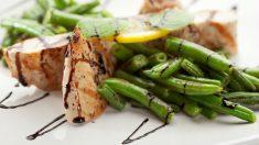 Receta de judías verdes con pollo fácil de preparar