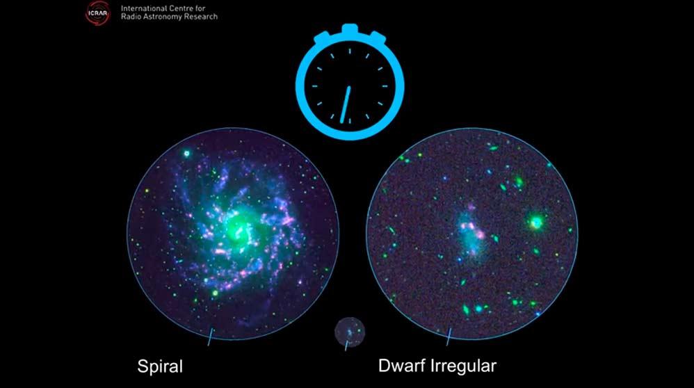 Las galaxias y sus misterios ocultos