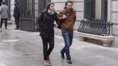 Pablo Iglesias e Irene Montero entrando en el Congreso. FOTO: FRANCISCO TOLEDO