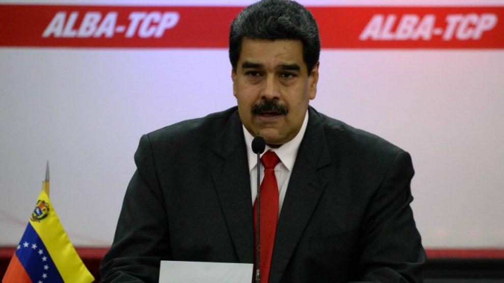 El dictador venezolano, Nicolás Maduro. Foto: AFP